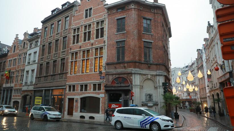 Rue de Pierres w Brukseli