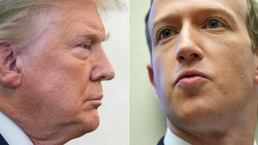 Donald Trump, Facebook blokuje jego konto do odwołania