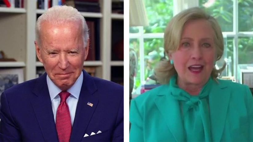 Clinton popiera Bidena