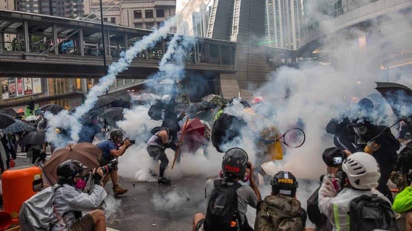 Protesty Hong Kong
