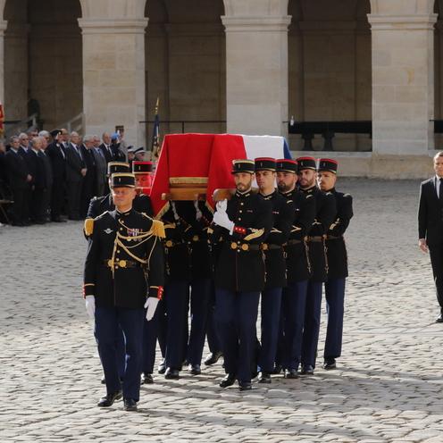 Chirac pogrzeb