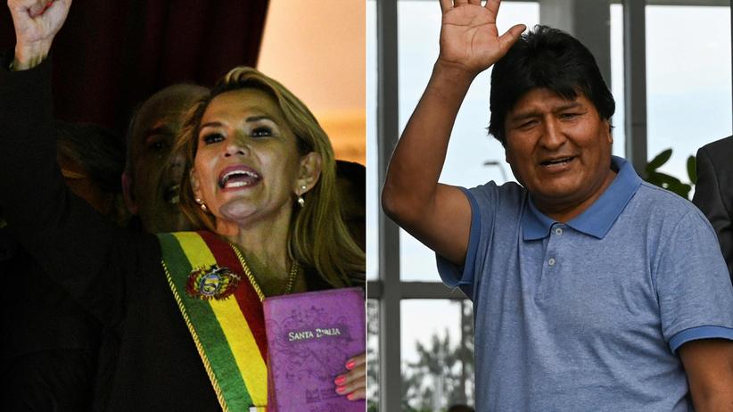 Jeanine Anez tymczasowym prezydentem Boliwii. Morales: to ohydny zamach stanu