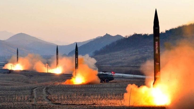 Korea Północna wystrzelila kilka rakiet krótkiego zasięgu