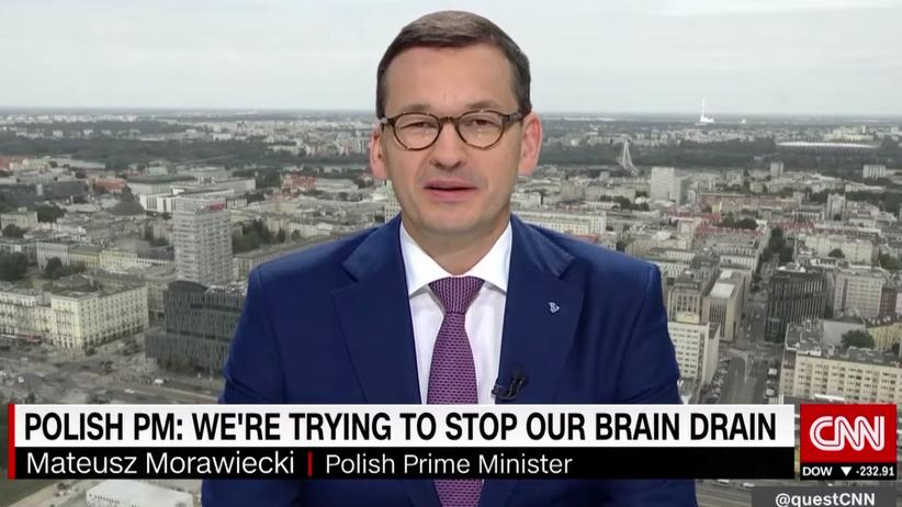 Morawiecki w CNN: chcemy, aby młodzi zostali w Polsce