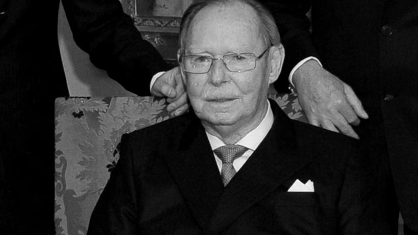 Nie żyje wielki książę Jan. Miał 98 lat
