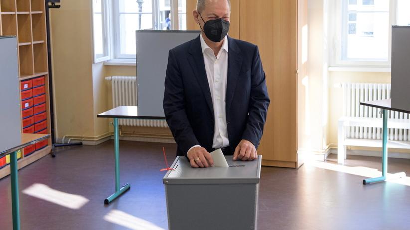 Olaf Scholz - kandydat SPD na kanclerza Niemiec