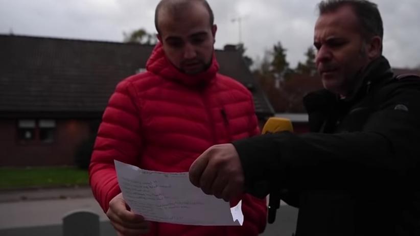 Szwedzki polityk zajmował się przemytem ludzi. Nagrała go ukryta kamera