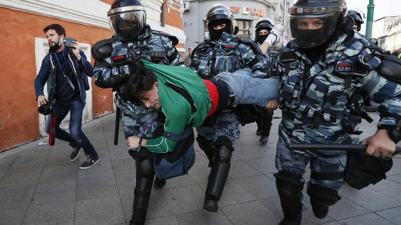 Rosja. Demonstracje na rzecz wolnych wyborów