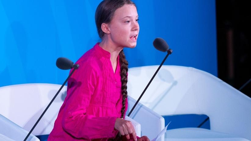 Trump kpi z poruszającego przemówienia Grety Thunberg. Internauci oburzeni