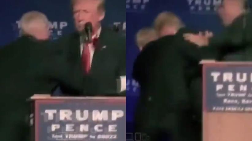 Trump zaatakowany