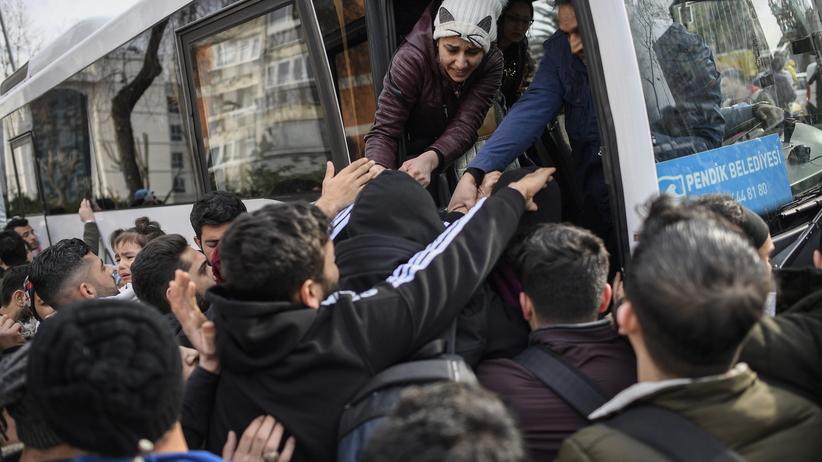 Turcja uchodźcy