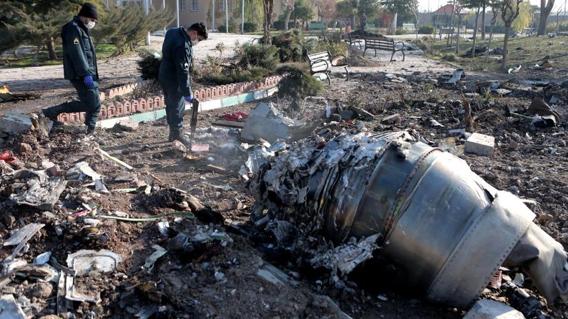 Ukraina przeprasza za komunikat po katastrofie samolotu w Iranie