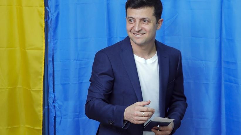 II tura wyborów prezydenckich na Ukrainie. Faworytem Wołodymir Zełenski