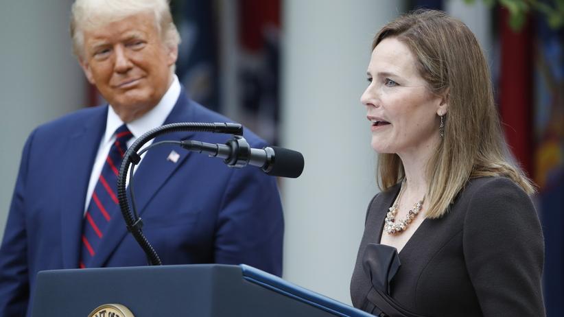 Donald Trump i Amy