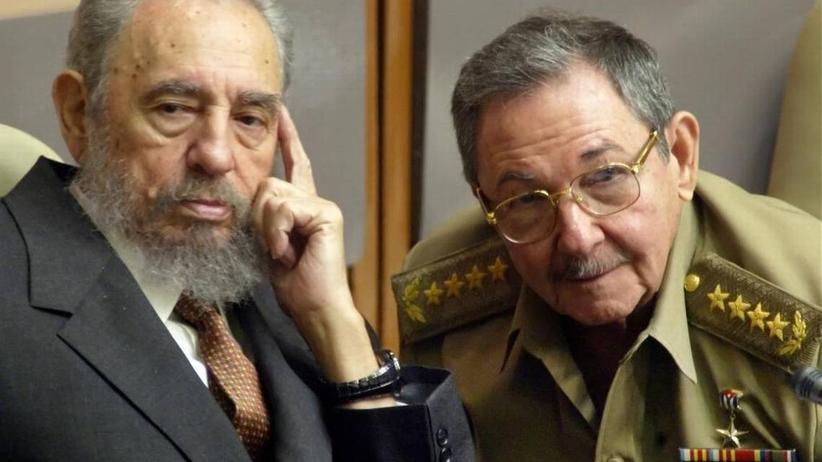 Raul Castro i Fidel Castro