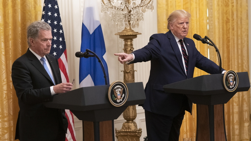 Donald Trump i Sauli Niniisto