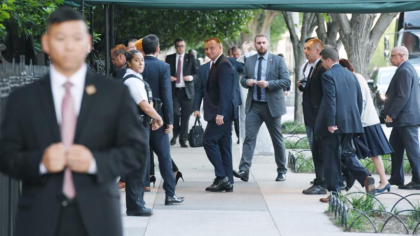 Dziś spotkanie Dudy i Trumpa. Głównym tematem bazy wojsk USA w Polsce