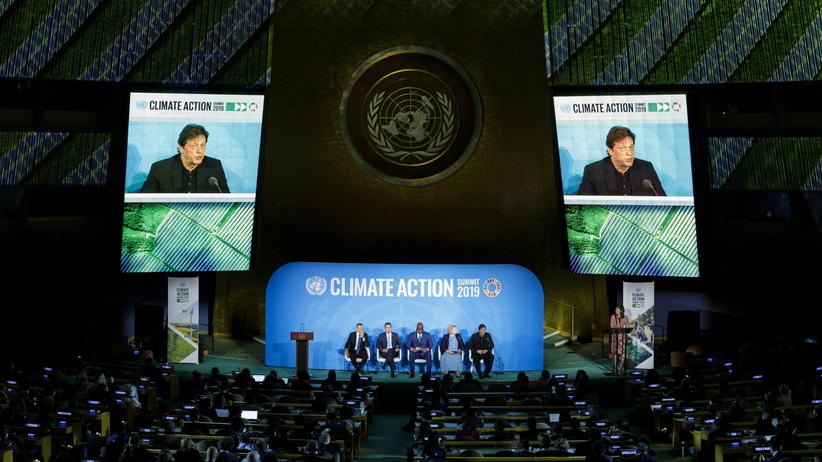 Szczyt klimatyczny ONZ w Nowym Jorku. Trump jednak się pojawił