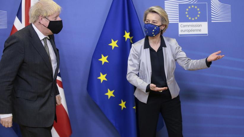 Boris Johnson i Ursula von der Leyen