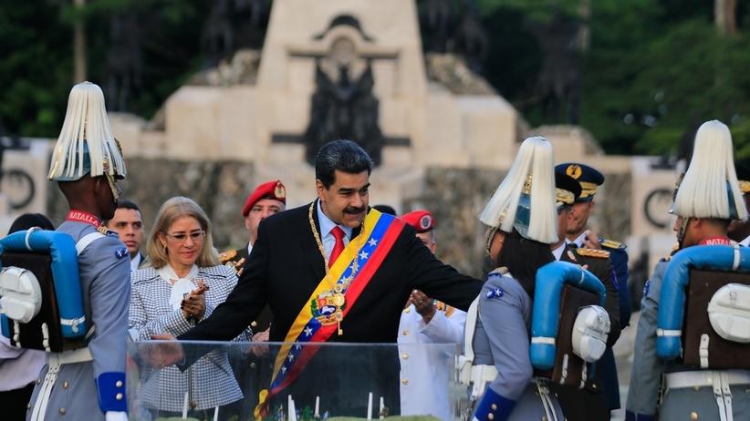 Rząd Wenezueli: próbowano zamordować prezydenta Maduro