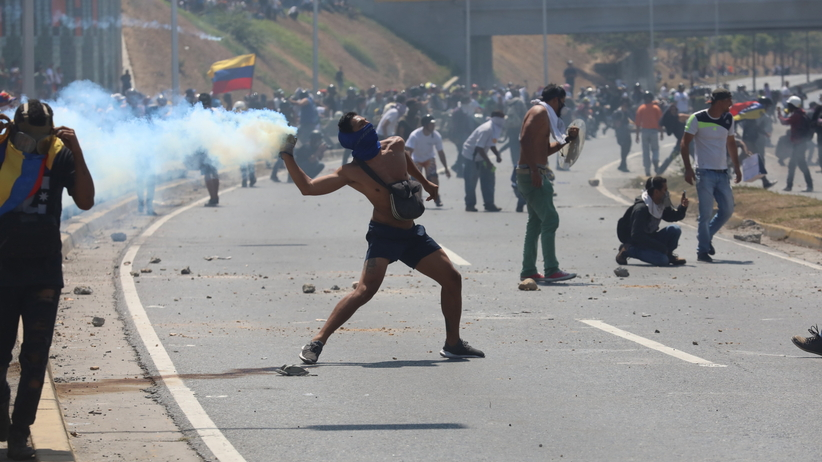 USA przygotowane do interwencji zbrojnej w Wenezueli