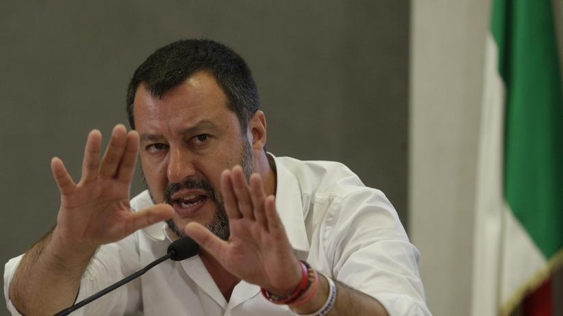 Rosja finansowała partię wicepremiera Włoch? Matteo Salvini odpowiada