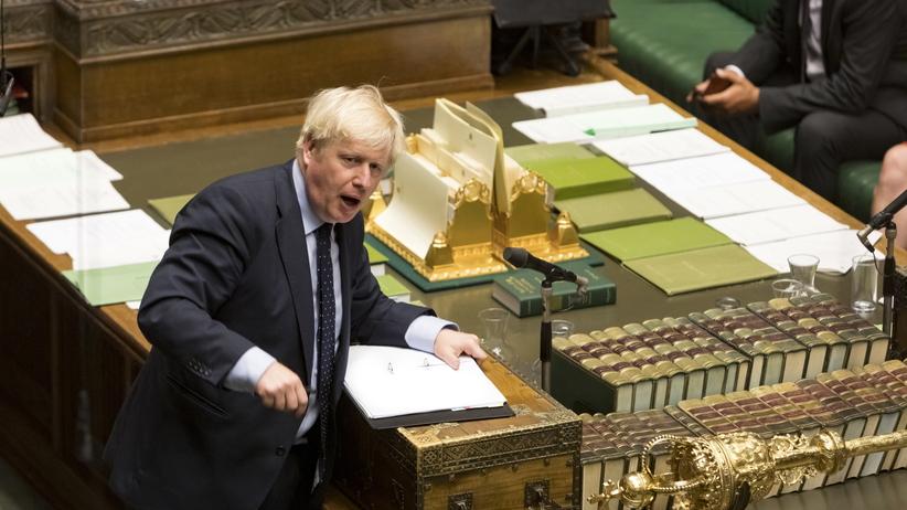 Boris Johnson przegrywa