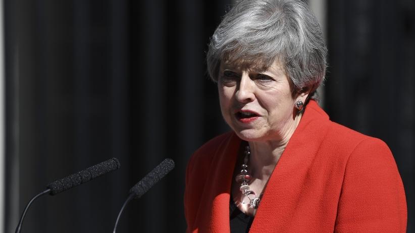 Theresa May ustąpiła ze stanowiska lidera partii