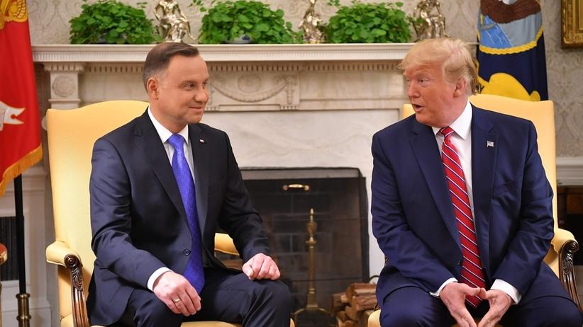 Andrzej Duda, Donald Trump