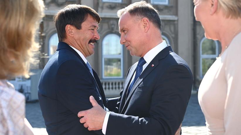 wizyta Andrzeja Dudy w Budapeszcie
