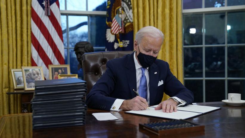 Inauguracja Joego Bidena w Waszyngtonie