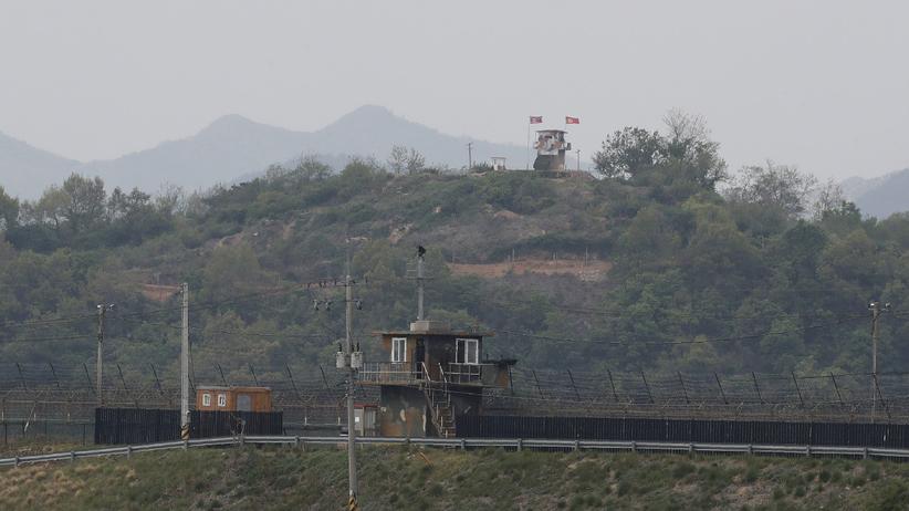 Granica między Koreą Płn i Koreą Płd