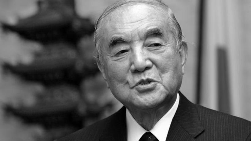 W wieku 101 lat zmarł były Japonii premier Yasuhiro Nakasone