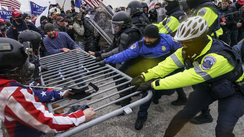 Zamieszki w Kongresie USA, piąta ofiara