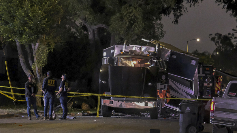 Eksplozja w Los Angeles