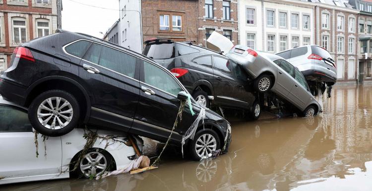 Powódź w Belgii