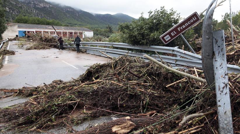 Powódź w Hiszpanii
