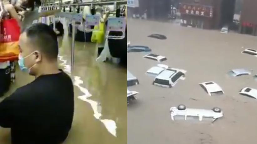Powodzie w Chinach. Zginęło co najmniej 12 osób