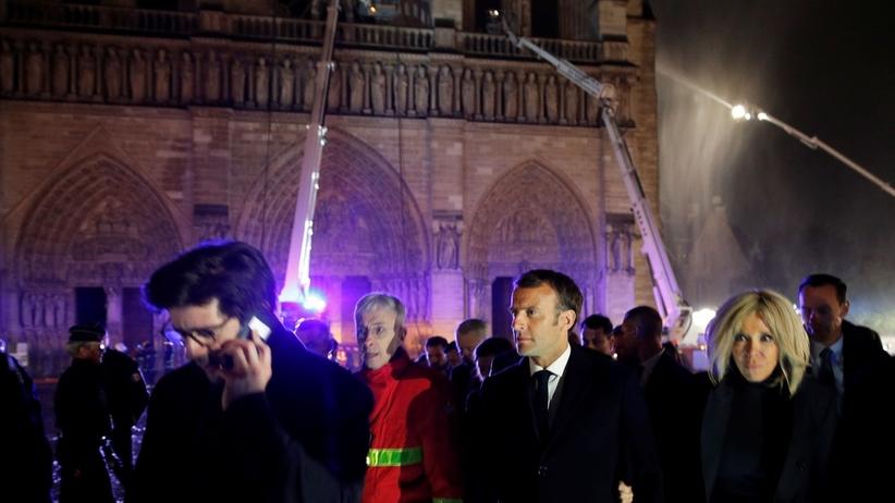 Macron: odbudujemy katedrę Notre Dame w 5 lat