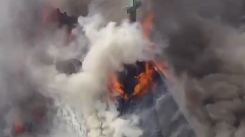 Pożar kościoła w Filadelfii. W środku znajduje się centrum pomocy dzieciom