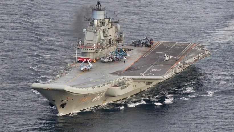 Admirał Kuzniecow pożar