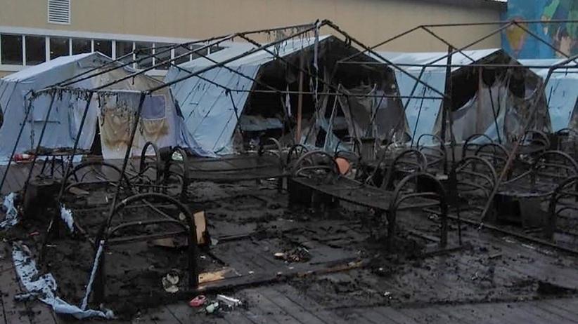 Pożar na obozie dla dzieci i młodzieży w Rosji. Nie żyją cztery osoby