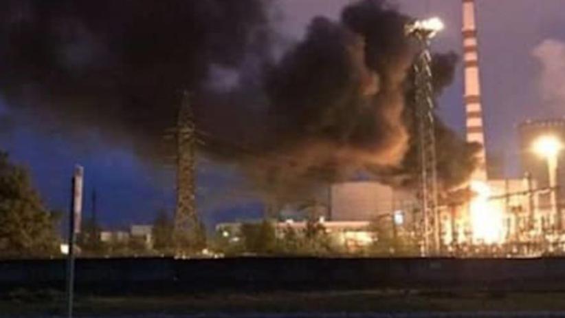 Awaria w elektrowni atomowej przy polskiej granicy. Spłonął transformator