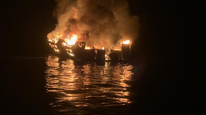 Tragiczny bilans pożaru statku w Kalifornii. Znaleziono ponad 20 ciał