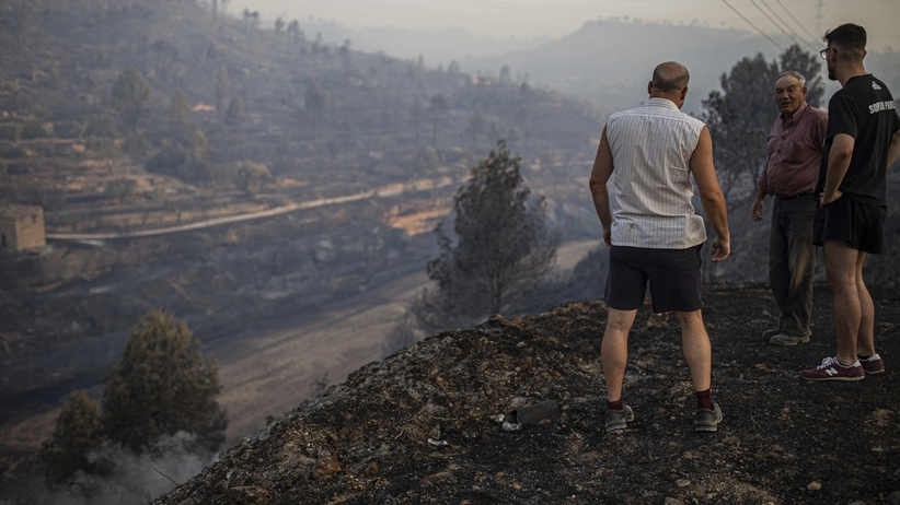 Ponad 500 strażaków walczy z ogromnym pożarem w Katalonii