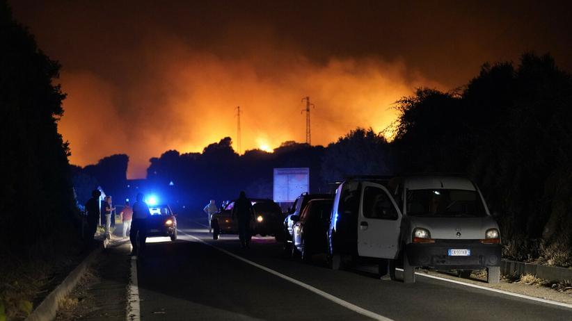Pożary, Sardynia
