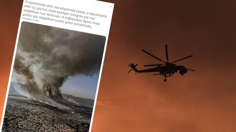 Pożary w Grecji i Turcji