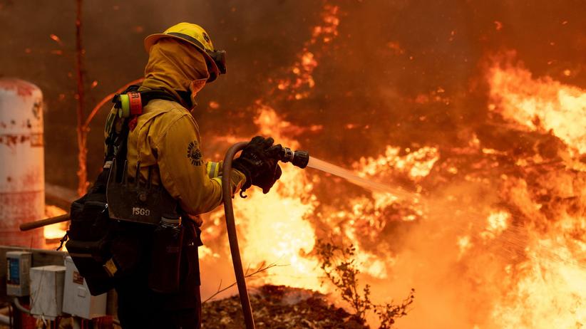 Pożary w Kalifornii, 2020