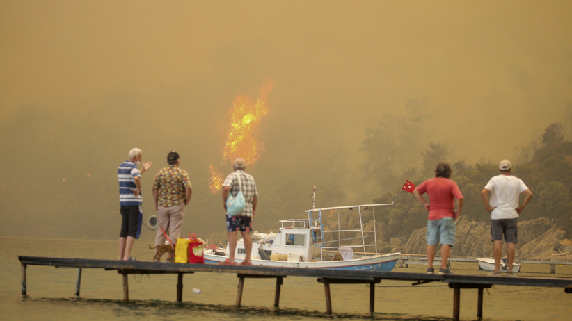 Pożary w Bodrum