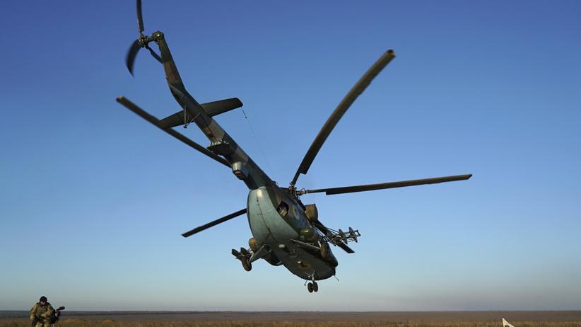 Katastrofa na pokładzie helikoptera. Cała załoga nie żyje